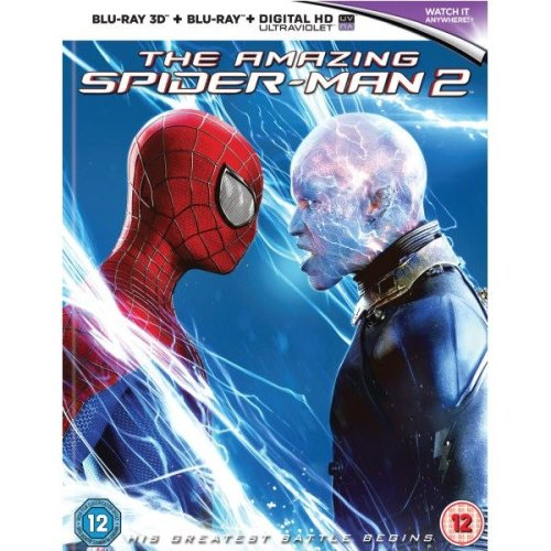 The Amazing Spider-man 2 3d: Mastered in 4k Edition (includes Ultraviolet Copy)