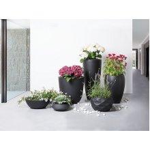 Planter - Flower Pot - Balcony - Outdoor- Decorative - Black - MAGGIORE