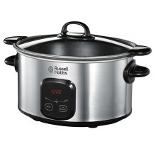 Russell Hobbs 22750 Stainless Steel Digital 6L Slow Cooker