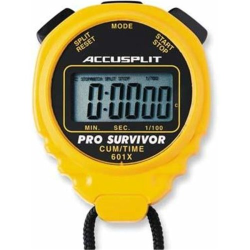 Olympia Sports TL066P ACCUSPLIT Pro Timer - Yellow