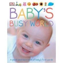 Baby's Busy World: a Point and Learn Book of Baby's First Words (dk Preschool)
