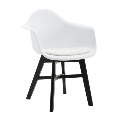 Visitor chair Calgary Black Pu