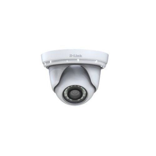 D-Link DCS-4802E IP security camera Indoor & outdoor Dome White security camera