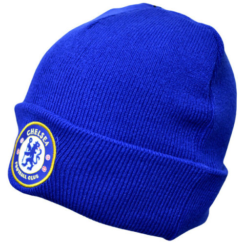 Chelsea Cuff Knitted Hat - Royal - Official Beanie Football Fc Hats Club Up -  official knitted chelsea beanie cuff football fc hats club royal up