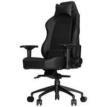Vertagear Racing Series P-Line Gaming Chair With Large Soft Glide Wheels - Black
