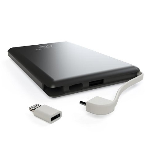 Mixx Powerlife Slim Powerbank - Charge Your Phone Up To 1.5 Times - 4,000mAh