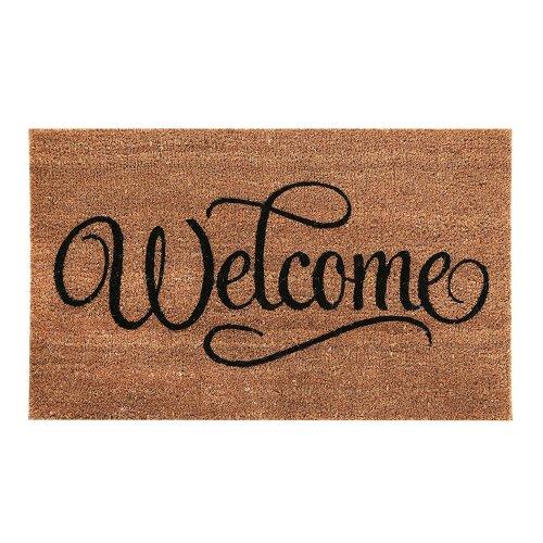 """""""Welcome"""" Coir Doormat"""