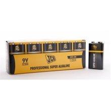 10 x JCB 9V Professional Super Alkaline Industrial Batteries
