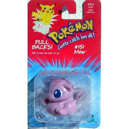 Pokemon Pull Backs - #151 Mew by Hasbro
