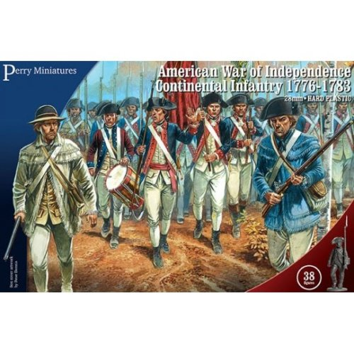 Perry Miniatures American War of Independence Continental Infantry 1776-84