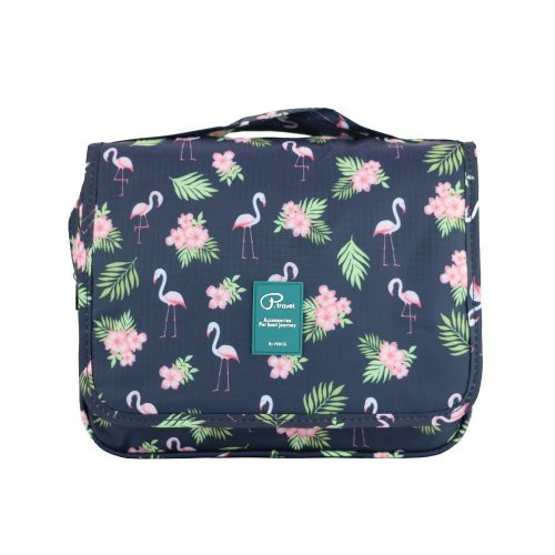 0bd533d3afbe Hanging Travel Toiletry Bag Women Flamingo Girls Toilet Bag Wash Bag  Organizer Makeup Pouch Cosmetic Bag