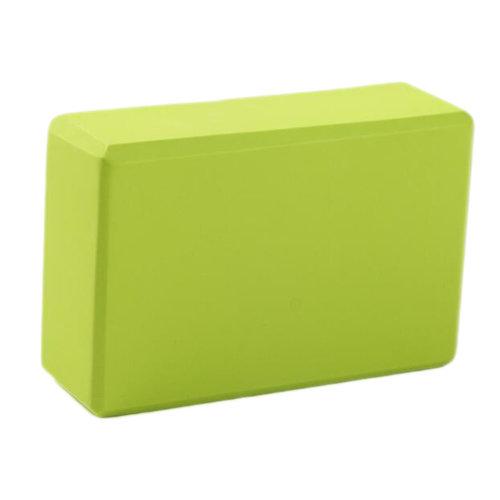 Yoga Brick High-densit Environmental Yoga Blocks Yoga Starter Auxiliary Tool Foam Fitness-Green