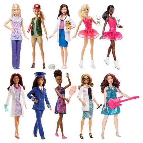 Mattel MTTDVF50 Barbie Crrs Doll Assortment - 4 Piece
