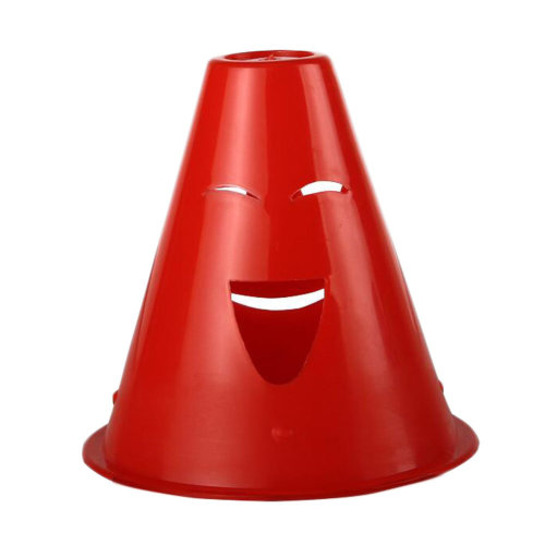 10Pcs Slalom Cones Skating Cone Traffic/ Training Cones/ Markers/ Barrier-Red