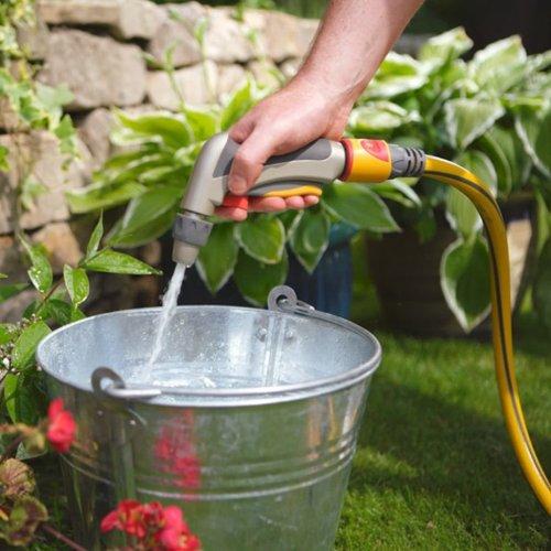 Hozelock Garden Tools Metal Adjustable Nozzle Spray Gun