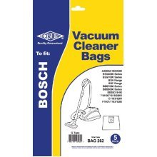 Electruepart BAG 262 pack of 5 Bags to fit Bosch Vacuum Cleaners