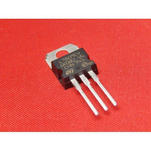 Voltage Regulators L7809CV +9Vdc TO-220 package PACK of 5