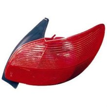 Peugeot 206 3 Door Hatchback  1998-2003 Rear Lamp  Driver Side R