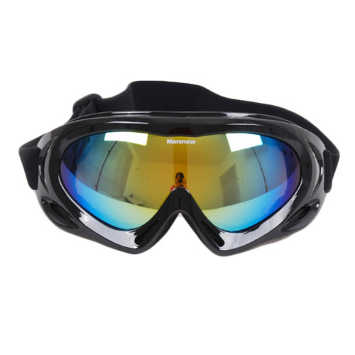 Snow Goggles Windproof Eyewear Ski Sports Goggle Protective Glasses Black
