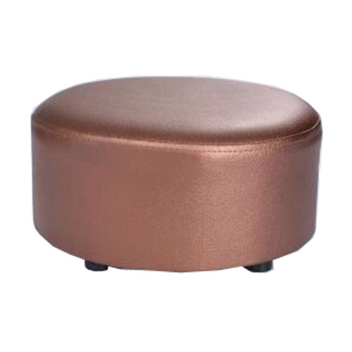 Creative Round Modern Small Faux Leather Stool Shoes Stool  Sofa Pier