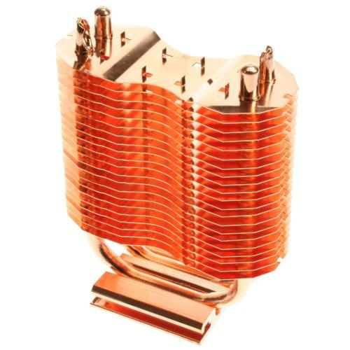 Connectland 1504002 Heatsink Fan Cooling System Motherboard Chipset - Copper