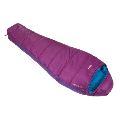 Vango Nitestar 250S Sleeping Bag - Plum Purple