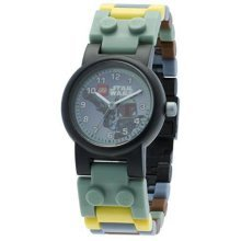 Lego Star Wars Boba Fett Kid's Watch with minifigure 8020363