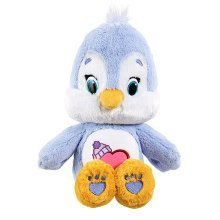 Care Bears Medium Soft Toy with Dvd - Cozy Heart Penguin
