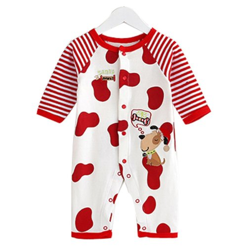 Baby Suit Clothing Long-Sleeved Cotton Baby Crawl Sports Clothing R