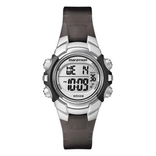 Timex 6518229 Marathon Sports Watch Unisex Round Digital Resin Water Resistant - Black