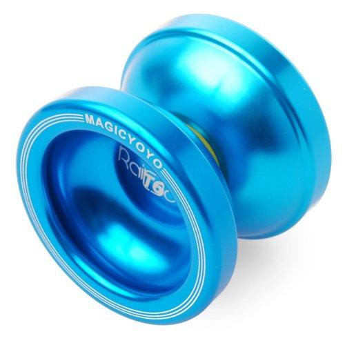 XCSOURCE® Original Magic YoYo T6 Aluminum Professional Yo-Yo Toys+5xStrings+Glove (Blue) TH004