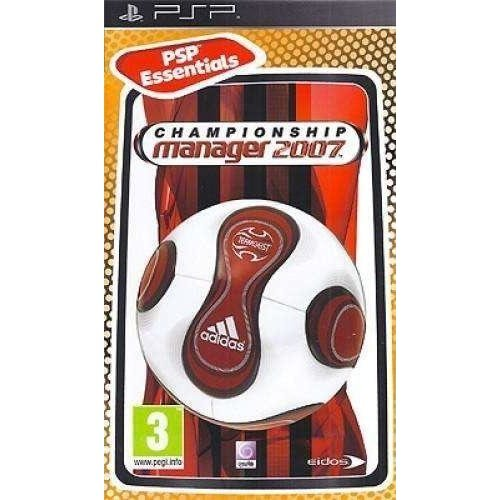 Championship Manager 2007 Essentials Edition Sony Psp Game