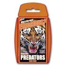 Deadliest Predators Top Trumps