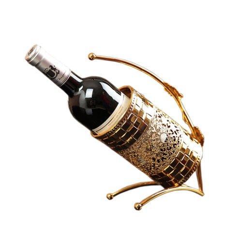 [Chevalier] Gilded Elegant Wine Rack Storage Organizer Display Holder