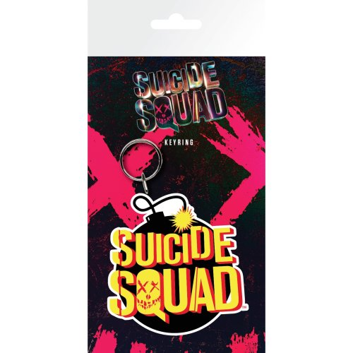 Suicide Squad Bomb Keyring