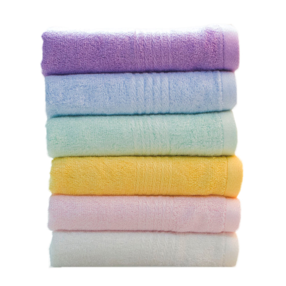 Bamboo Fibre Towel Set Soft And High Quality Towels 6 Pack B On Onbuy