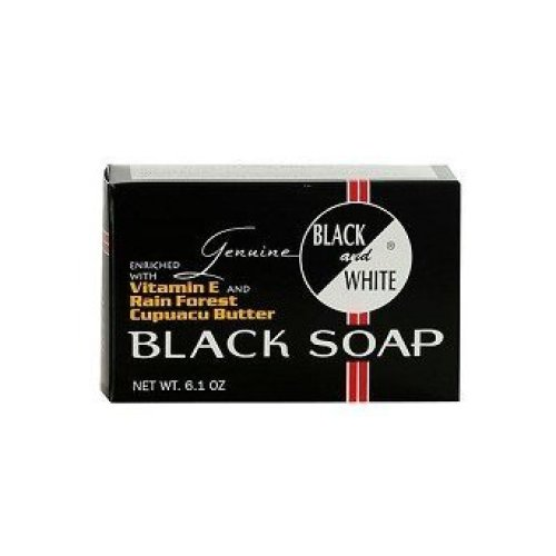 Black and White Soap, 6.1 Ounce