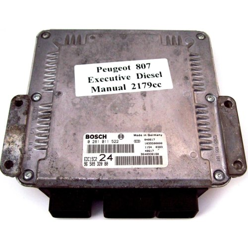Peugeot 807 2.2 Engine Management ECU 0281011522 24