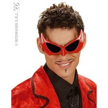 Glasses Devil Party Novelty Glasses Specs & Shades For Fancy Dress Costumes - -  demon devil halloween glasses fancy dress red sunglasses super hero