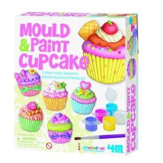 Cupcake Mould & Paint Kit