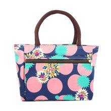 Creative Purse Handbag Printed Tote Bag With Zipper For Ladies Shopping