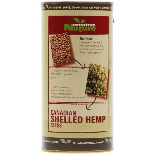 Creative Nature Organic Shelled Hemp Seeds 150g