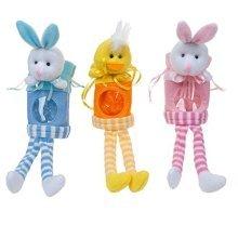 Easter Arts & Craft Bonnet Decorations Egg Hunt - Animal Gift Pouch -  easter decorations egg hunt