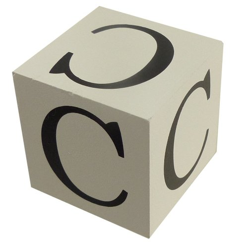Wooden Block - Letter C