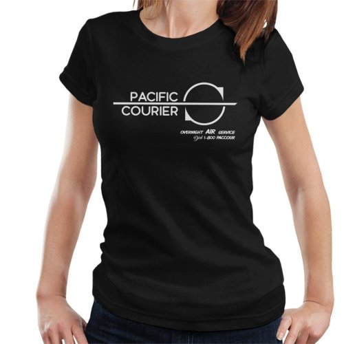 Pacific Courier Overnight Air Service Die Hard Women's T-Shirt