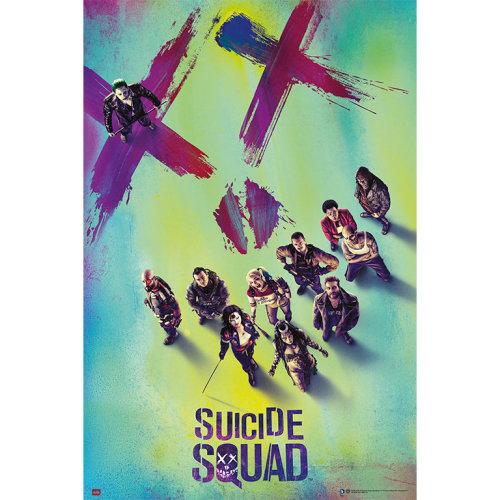 Poster Escuadron Suicida Portada