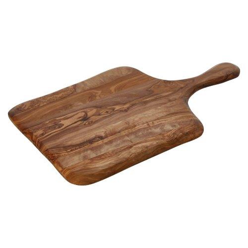 Kora Olive Wood Pizza Board Rectangular, Brown