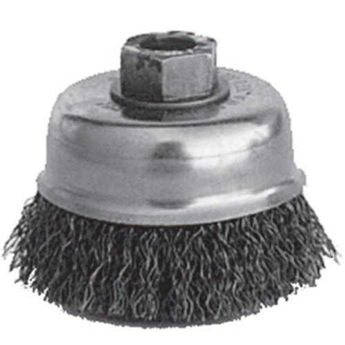 KT Industries 395914591 5-3145 4 x 0.62-11 in. Crimp Cup Brush