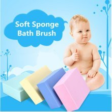 Sponge Body Spa Rub Back Bath Brush
