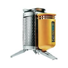 Biolite Camp Stove - No Gas or Fuel Required - Charge Devices While Cooking